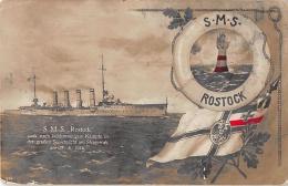 WELTKRIEG I - Marine, SMS Rostock 1916 - Weltkrieg 1914-18