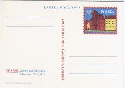 Poland Polska 1967 Gdansk, Maritime Museum - Stamped Stationery