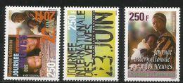 2011 Gabon International Widows Day Complete Set Of 3 MNH - Gabun (1960-...)