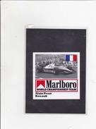 Sticker Marlboro - Alain Prost - Renault - Car Racing - F1