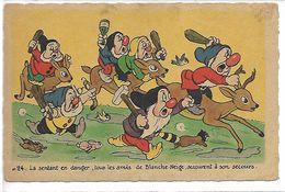 WALT DISNEY - Blanche Neige Et Les 7 Nains - N° 24 - Disney