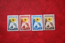 NIWIN Zegels NVPH 538-541 (Mi 521-524) 1949 Ongebruikt / MH NEDERLAND / NIEDERLANDE - 1949-1980 (Juliana)