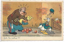 WALT DISNEY - DONALD - Zut, La Police !!! - Disney