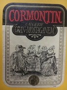 5527 - Cormontin Oran-Mostaganem Algérie - Etiquettes