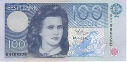 BILLETE DE ESTONIA DE 100 KROONI DEL AÑO 1994 (BANK NOTE) SIN CIRCULAR-UNCIRCULATED - Estonia