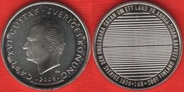 "Sweden 1 Krona 2009 Km#916 ""Separation From Finland"" UNC - Sweden"