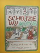 5530 - Schütze Wy Vin Du Tir Gamay De Romandie Suisse - Autres