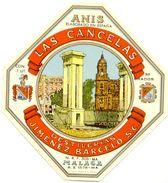 1379 - Espagne - Andalousie - Anis Las Cancelas - Destilerias JImenez Barcelo -Málaga - Etiquettes