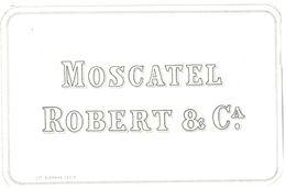 1381 - Espagne - Andalousie - Moscatel Robert & Ca. - Etiquettes