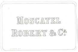 1381 - Espagne - Andalousie - Moscatel Robert & Ca. - Labels