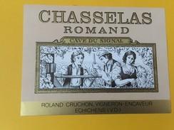 5535 - Chasselas Romand Cave Du Signal Roland Cruchon Suisse - Etiquettes