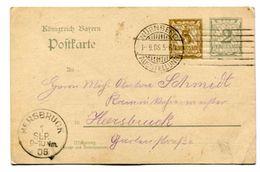 Postkarte  1906 - Deutschland