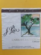 5538 - Cabernet Sauvignon California 1987 J.Lohr - Etiquettes