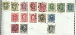 Espagne N°272, 272a, 273 à 276, 276a, 277, 279, 279a, 279A, 281, 282, 284, 285, 287a Cote 9.35 Euros - 1889-1931 Königreich: Alphonse XIII.