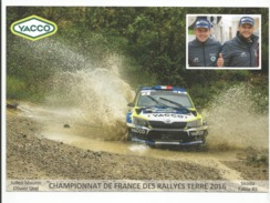 CHAMPIONNAT DE FRANCE RALLYES TERRE 2016 - Julien MAURIN / Olivier URAL - SKODA FABIA R5 - Rally Racing