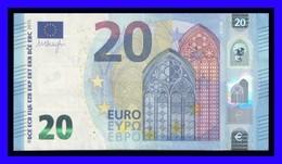 "20 EURO ""U"" FRANCE  Firma DRAGHI U002 F2 CH 02 UNC SEE SCAN!!!!!!! - EURO"