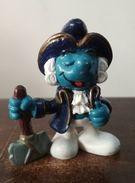 Historical Smurf Schtroumph GEORGE WASHINGTON - Pitufo Schlumph  1984 Made In Macau Schleich - Schtroumpfs