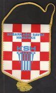 Basketball / Flag, Pennant / Croatia / Croatian Basketball Federation / KSH - Habillement, Souvenirs & Autres