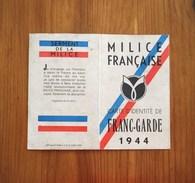 Rare 1944 / FRANC-GARDE / MAQUIS / FFI / RESISTANCE - 1939-45