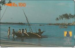 Lanka Phonecard  Fishing - Sri Lanka (Ceylon)