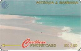 Antigua & Barbuda Phonecard Pink Sand Beach - Antigua And Barbuda