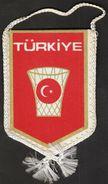 Basketball / Flag, Pennant / Turkey Basketball Federation - Apparel, Souvenirs & Other