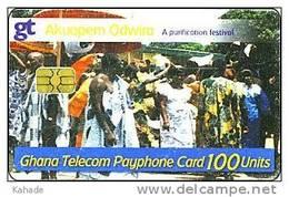 Ghana Phonecard  A Festival Party - Ghana