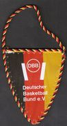 Basketball / Flag, Pennant / Germany Basketball Federation - Abbigliamento, Souvenirs & Varie