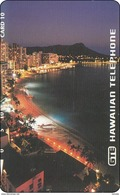 Hawai Phonecard Tamura Mint Beach City - Hawaii