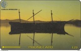 Falkland Phonecard  Schiff Ship - Falkland Islands