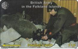 Falkland Phonecard British Army In The Falkland Islands - Falkland Islands