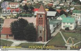 Falkland Phonecard Christ Church Cathedral - Falkland Islands