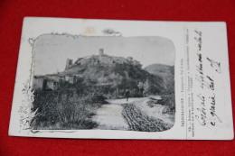 Salsomaggiore Lugagnano Val D' Arda Parma Pubblicitaria Tipo Gruss 1901 Molto Rara++++++ - Parma
