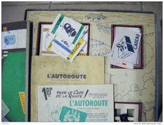 L'autoroute -the Funny Road --medaille D'argent Concours Lepine 1949--edition Dujardin A Arcachon - Jouets Anciens