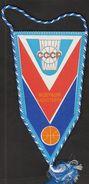 Basketball / Flag, Pennant / USSR Basketball Federation - Habillement, Souvenirs & Autres