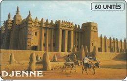 Mali Phonecard  Building Gebäude - Maurice