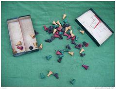 Lot De 63 Pionts En Bois -pour Jouer A ???????. - Group Games, Parlour Games