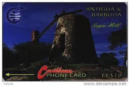 Caribbean Phonecard   Sagar Mill - Antigua And Barbuda