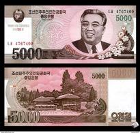 North Korea 5000 Won 2013 UNC - Korea (Nord-)