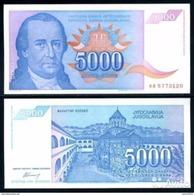 Yugoslavia - 5000 Dinar 1994 UNC - Joegoslavië