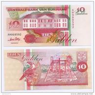 Suriname 10 Gulden 1998 UNC - Suriname