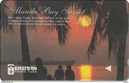 Phillepinas Phonecard Sunset Manila Bay 93PETE001809 - Philippines