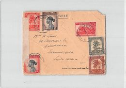 9403 01 FRONT OF ENVELOPE CONGO BELGE ALBERTVILLE TO JOHANNESBURG SOUTH AFRICA - 1923-44: Lettres