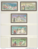 Russia 2004 Mih. 1149/53 Monasteries Of Russian Orthodox Church MNH ** - 1992-.... Federation