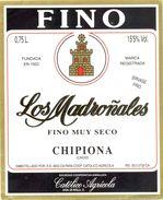 1389 - Espagne - Andalousie - Fino - Los Madroñales - Chipiona - Coop. Catolico Agricola - Etiquettes