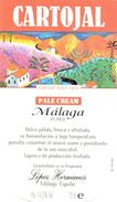 1399 - Espagne - Andalousie - Cartojal - Pale Cream - Málaga - López Hermanos - Málaga - Etiquettes