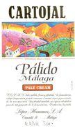 1400 - Espagne - Andalousie - Cartojal - Pale Cream - Pálido Málaga - López Hermanos - Málaga - Labels