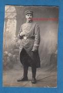 CPA Photo - CHANTEPIE Prés RENNES - Portrait Du Poilu FLAMAIN , Sergent Au 48e Régiment Territorial D'Infanterie - 1915 - Guerre 1914-18