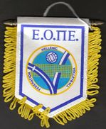 Volleyball / Flag, Pennant / Greece / Hellenic Volleyball Federation - Altri