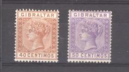 Gibraltar  :  Yv  25-26  * - Gibraltar